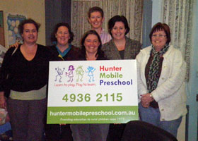 Hunter Mobile Preschool - Award Winning Management Committee