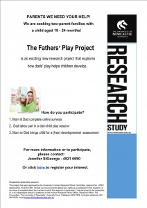 Fathers play project