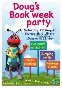 DougReadingBug book week party16 (1)